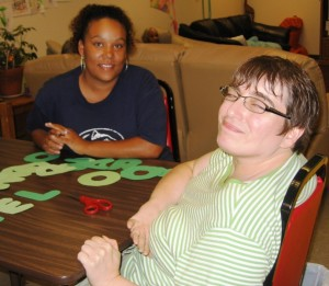 Community Transition Program participant and instructor