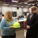 Allegheny County Executive Rich Fitzgerald visits PBA Industries.