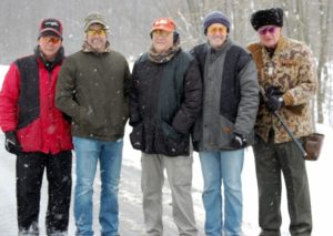 2nd place sporting clays team, Industrial rubber products