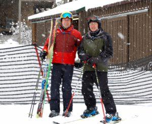 2nd place ski team, Elizabeth Carbide Die Co.