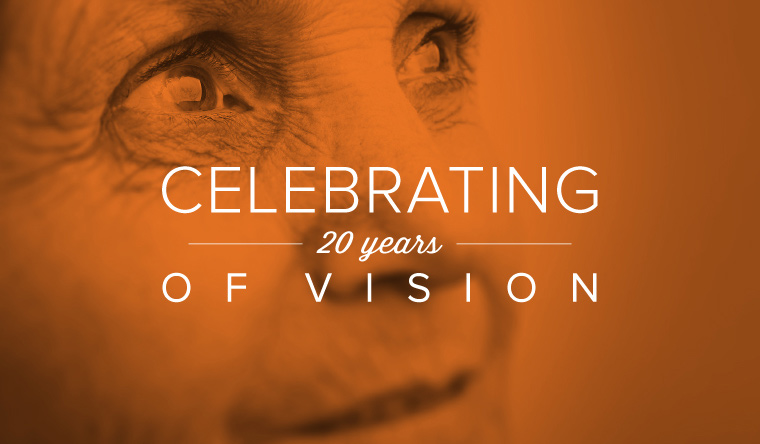 Celebrating 20 Years of Vision