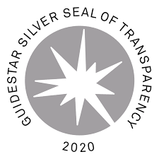 Logo for the Guidestar Silver Seal of Transparency 2020